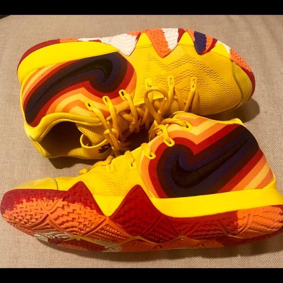 half off 0e22e ed837 Nike Kyrie 4 shoes. Size 7 Youth.